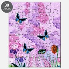 Birdwing On African Lily Puzzle
