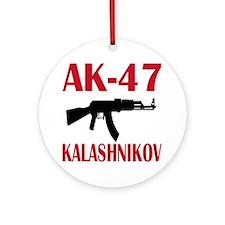 AK 47 Kalashnikov Ornament (Round)
