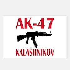 AK 47 Kalashnikov Postcards (Package of 8)