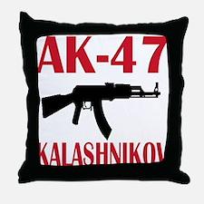 AK 47 Kalashnikov Throw Pillow
