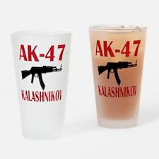 AK 47 Kalashnikov Drinking Glass