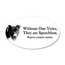 Without Our Voice Wall Decal