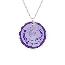 Pumping Award: Purple (I tried) Necklace