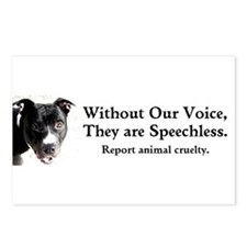 Without Our Voice Postcards (Package of 8)
