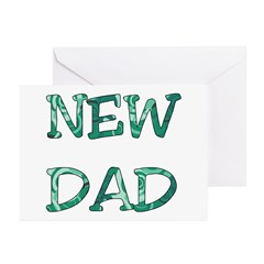 New Dad Greeting Cards (Pk of 10)