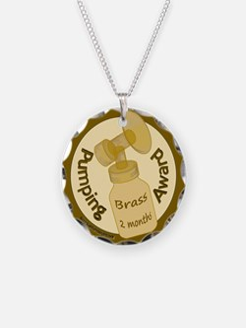 Pumping Award: Brass Necklace