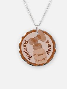 Pumping Award: Bronze Necklace