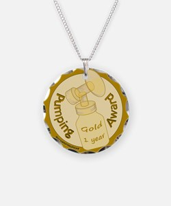 Pumping Award: Gold (1 Year) Necklace