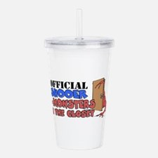 monstercloset.png Acrylic Double-wall Tumbler