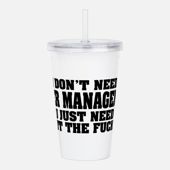 ANGERQ2.png Acrylic Double-wall Tumbler