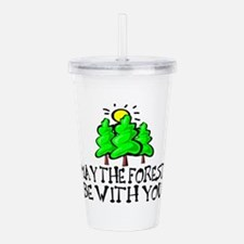 May The Forest Acrylic Double-wall Tumbler