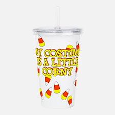 Corny Costume Acrylic Double-wall Tumbler