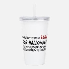 Mother-in-law Witch Acrylic Double-wall Tumbler
