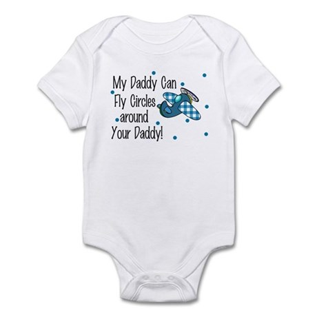My Daddy Can Fly Circles Infant Bodysuit