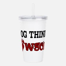 pawsome Acrylic Double-wall Tumbler