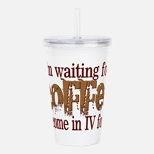 coffee iv.png Acrylic Double-wall Tumbler