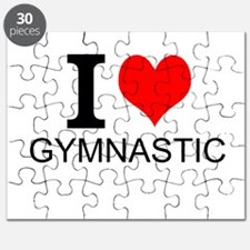 I Love Gymnastics Puzzle