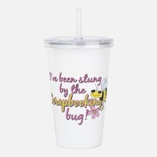 stung by bug.png Acrylic Double-wall Tumbler