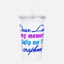 book.png Acrylic Double-wall Tumbler