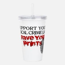 leave prints2.png Acrylic Double-wall Tumbler