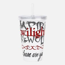 Cute Jacob black Acrylic Double-wall Tumbler