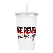 Unique Days of our lives Acrylic Double-wall Tumbler