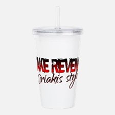 Cute Days of our lives Acrylic Double-wall Tumbler