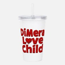 DiMera Love Child Acrylic Double-wall Tumbler