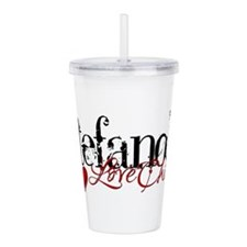 Stefano's Love Child Acrylic Double-wall Tumbler