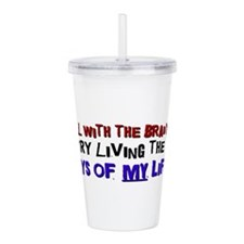 DAYSOFMYLIFEbl.png Acrylic Double-wall Tumbler