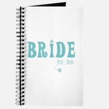 Bride to Be Teal Journal