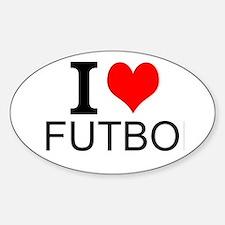 I Love Futbol Decal
