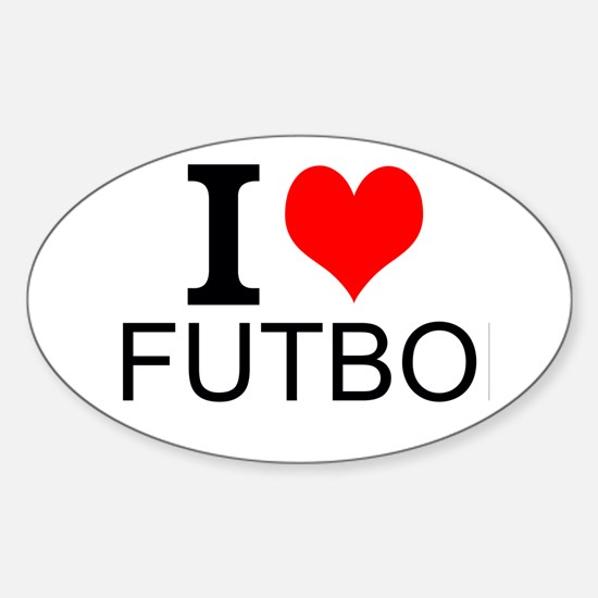 I Love Futbol Decal