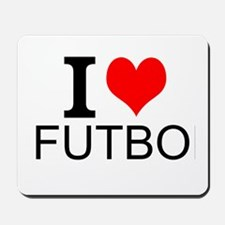 I Love Futbol Mousepad