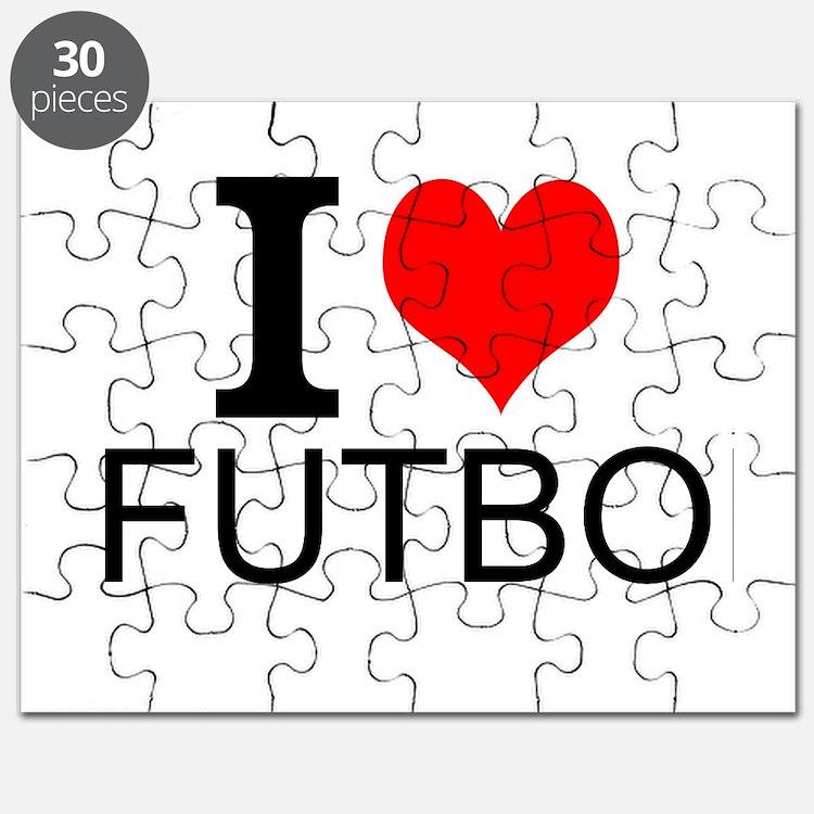 I Love Futbol Puzzle
