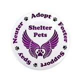 Animal rescue Buttons