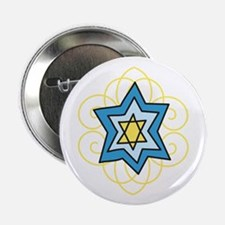 """Star Of David 2.25"""" Button (10 pack)"""