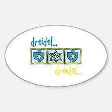 Dreidel Dreidel Decal