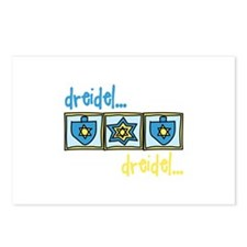 Dreidel Dreidel Postcards (Package of 8)