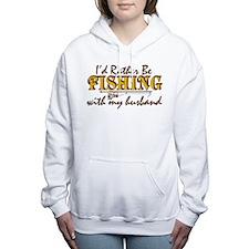 I'd Rather Be - Husband Women's Hooded Sweatshirt