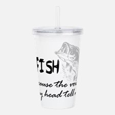 Unique Sports humor Acrylic Double-wall Tumbler