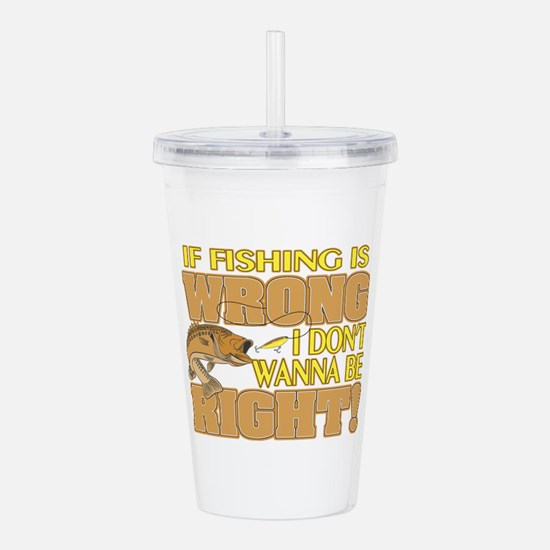 WRONGRIGHT.png Acrylic Double-wall Tumbler