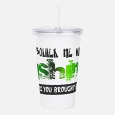 brought beer.png Acrylic Double-wall Tumbler