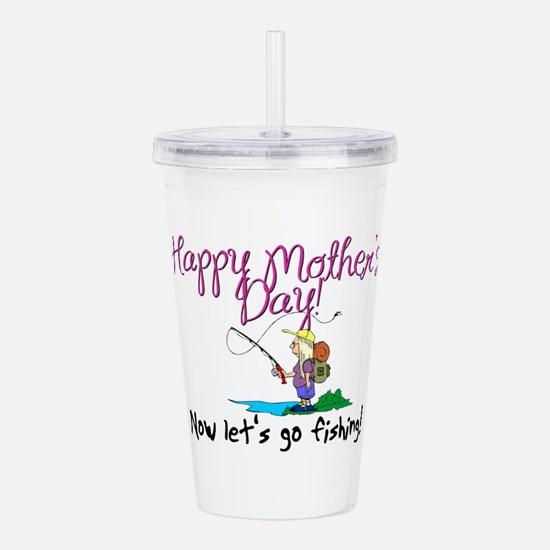 Happy Mother's Day Acrylic Double-wall Tumbler