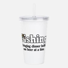 One Beer At A Time Acrylic Double-wall Tumbler