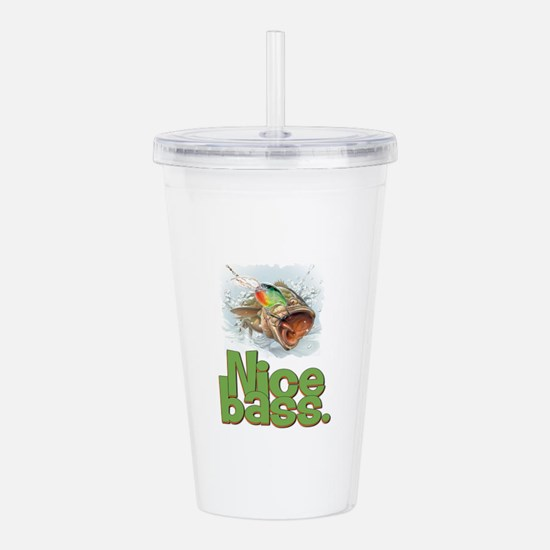 Nice bass. Acrylic Double-wall Tumbler