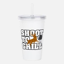 Shoot to Grill Acrylic Double-wall Tumbler