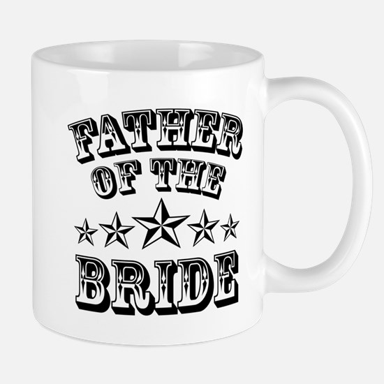 Cool Father of the Bride Mug Wedding Fa Mug