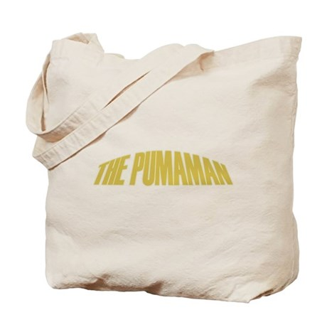 Pumaman Tote Bag