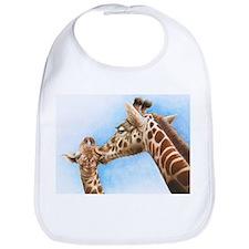 Giraffe and Calf Bib